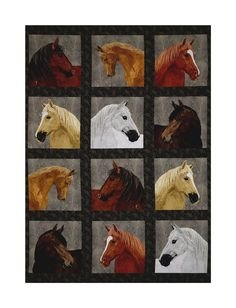 Horse Panel by Andover