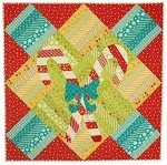 Christmas Crossing - Jelly Roll Pattern