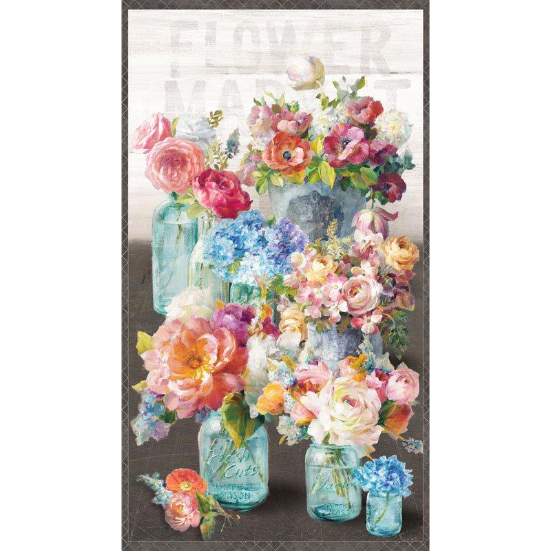 Flower Market Panel