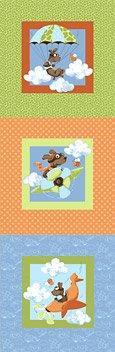 Susybee - Zig, Flying Ace Dog Mini Panel