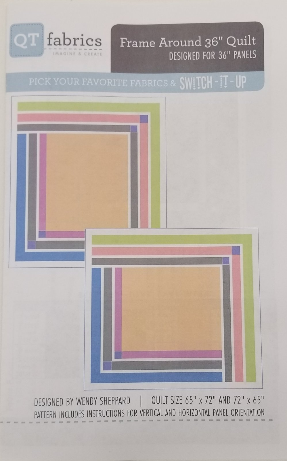 Frame Around 36 Quilt Pattern