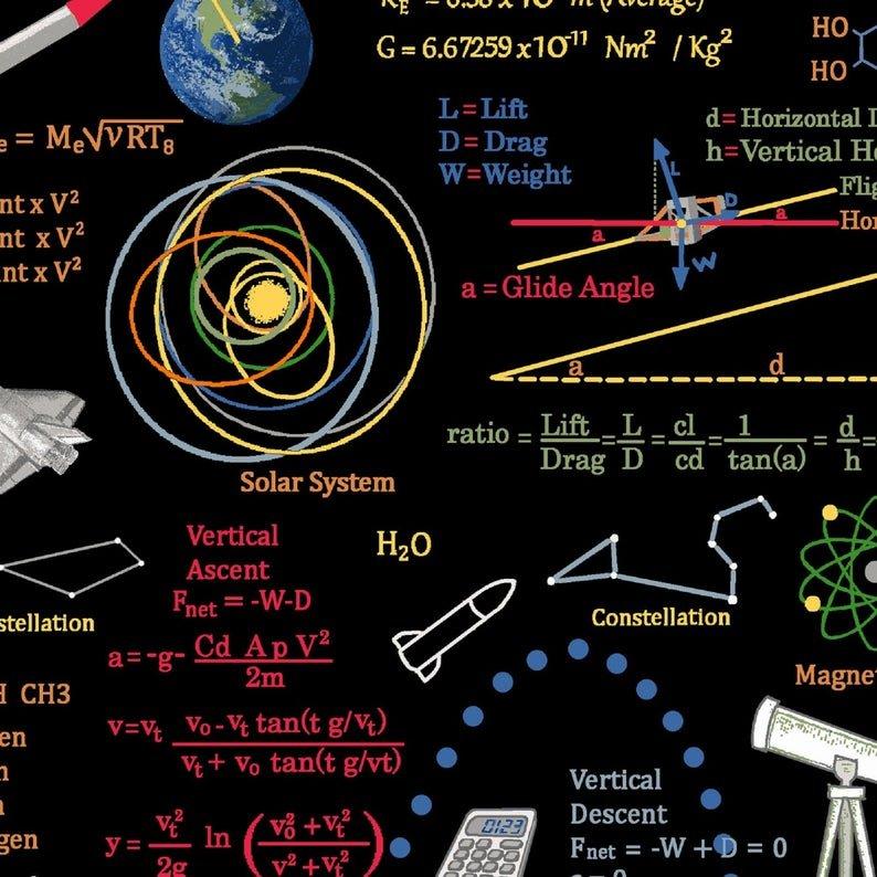 Planetary Mission - Graphics & Formulas