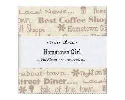 Hometown Girl Prints Charm Pack