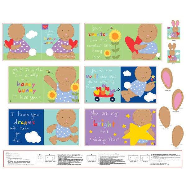 Honey Bunny Book Panel