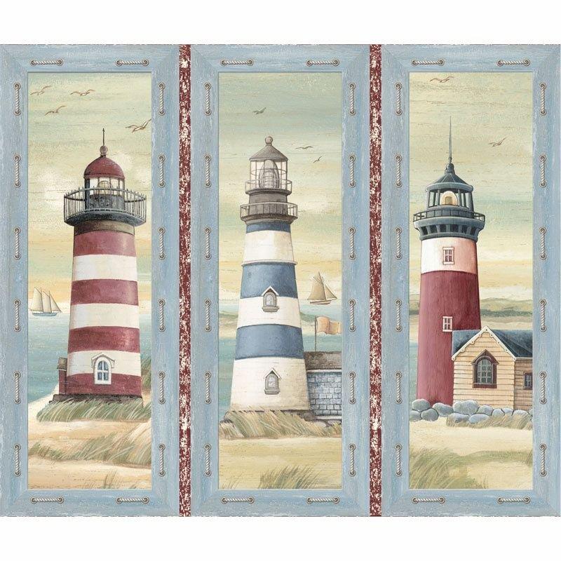 Three Lighthouse Panel