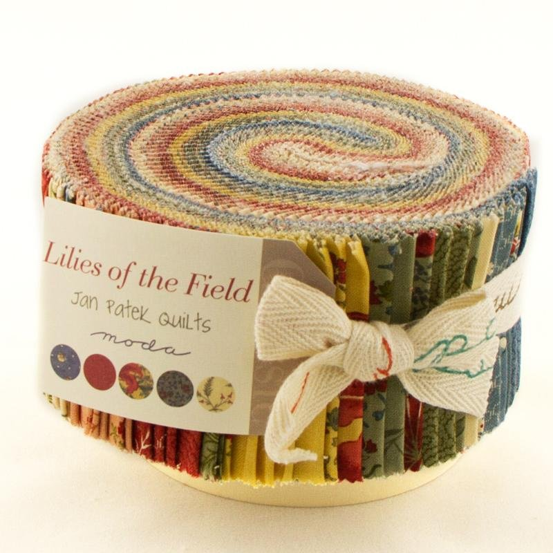 Lilies of the Field Jelly Roll