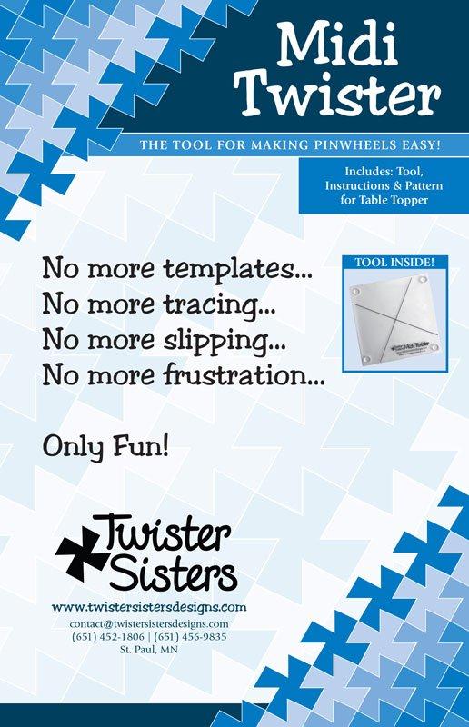 Midi Twister Tool For 6 1/2 square