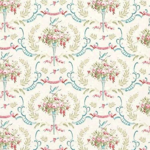 Tilda - Old Rose / Birdsong Dove White
