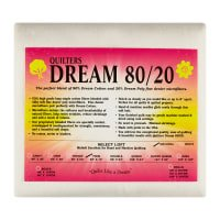 Quilters Dream 80/20 Batting - White