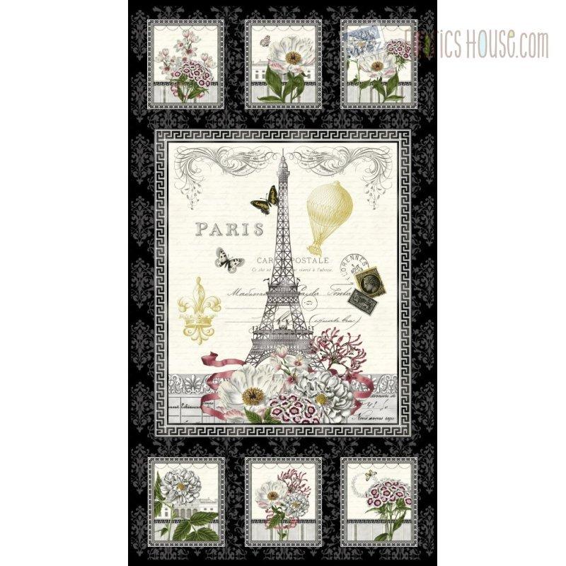 Salon Fleur Panel