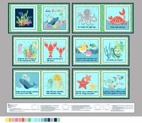 Sea Buddies Book Panel