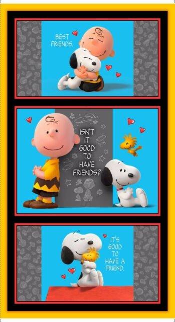 Snoopy Best Friends Panel