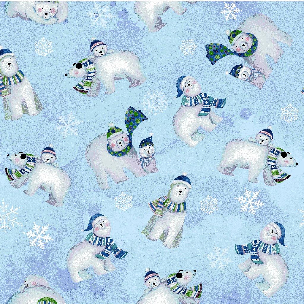 Snowville - Polar Bears / Light Blue