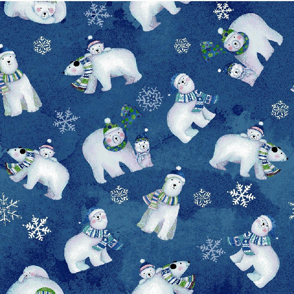 Snowville - Polar Bears / Light Navy