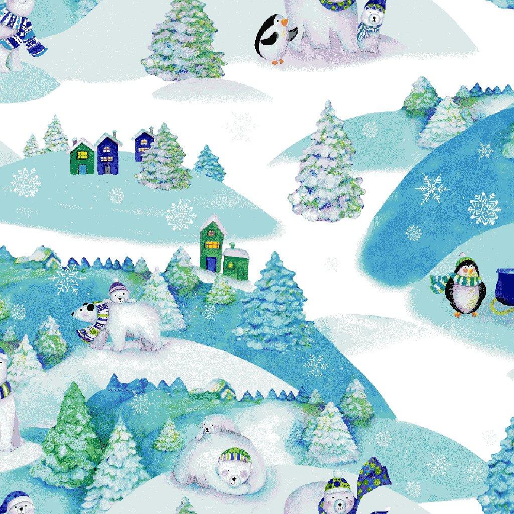 Snowville - Winter Toile / Sky