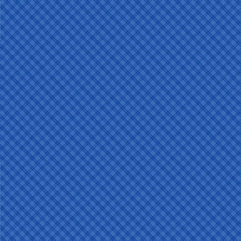 Snowville - Plaid / Light Royal Blue