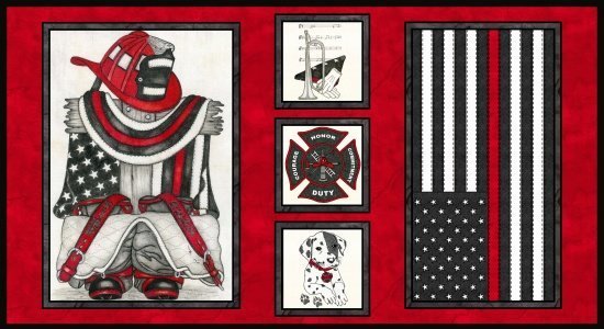 Thin Red Line Multi Panel