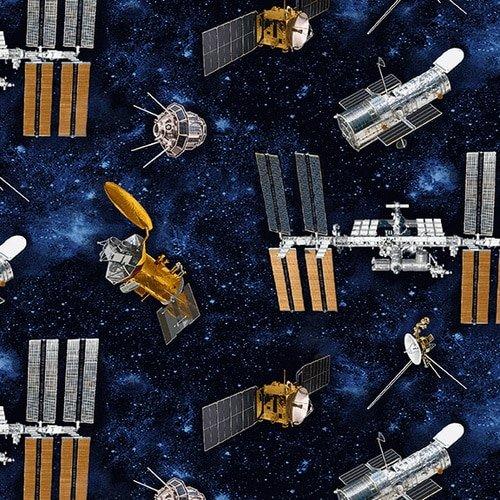 Planetary Mission - Tossed Satellites