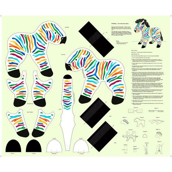 Rainbow the Zebra