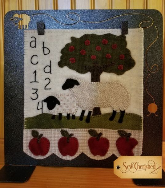 Simply Sheep August Pattern