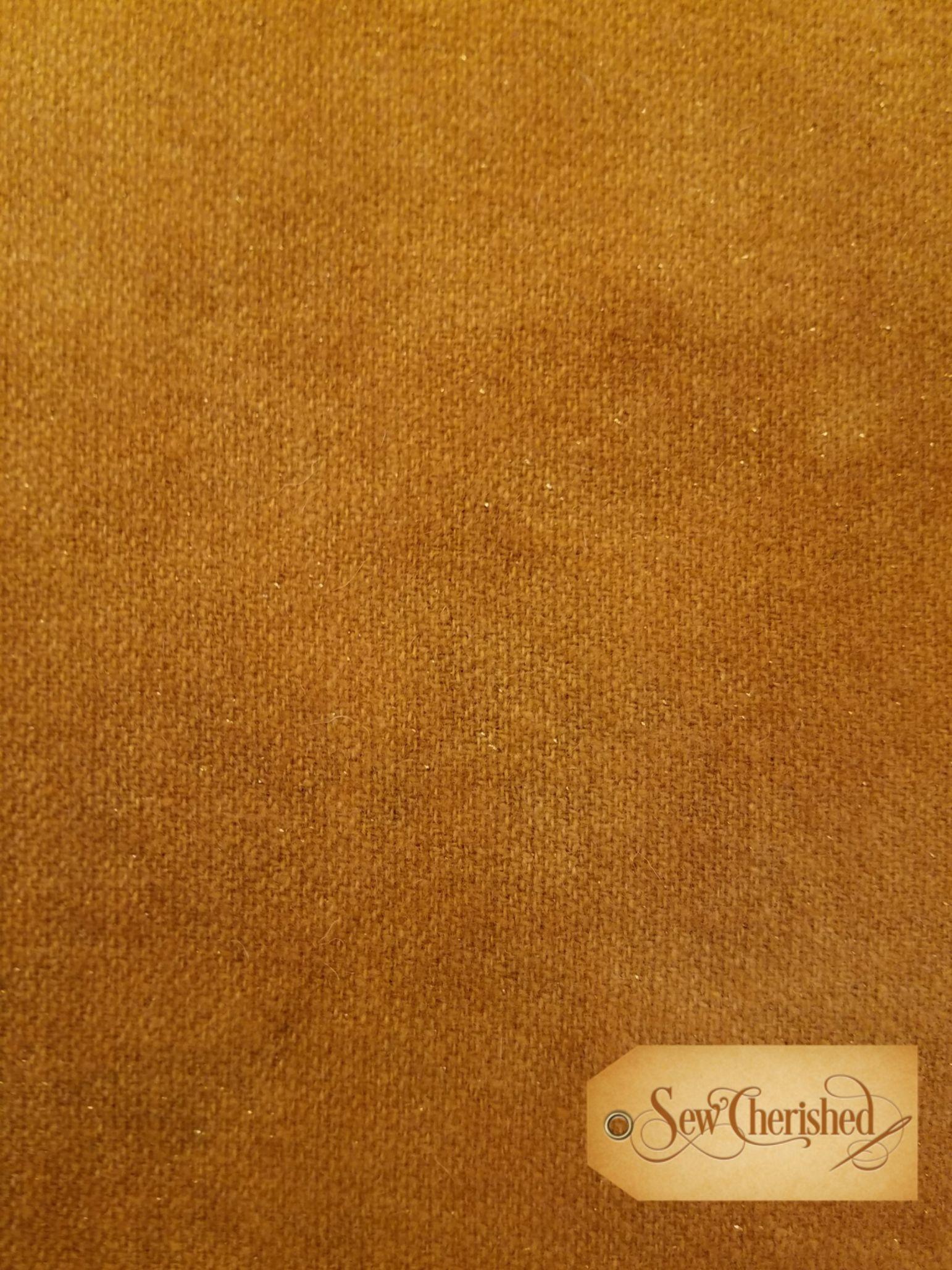 Gold Glitter Wool