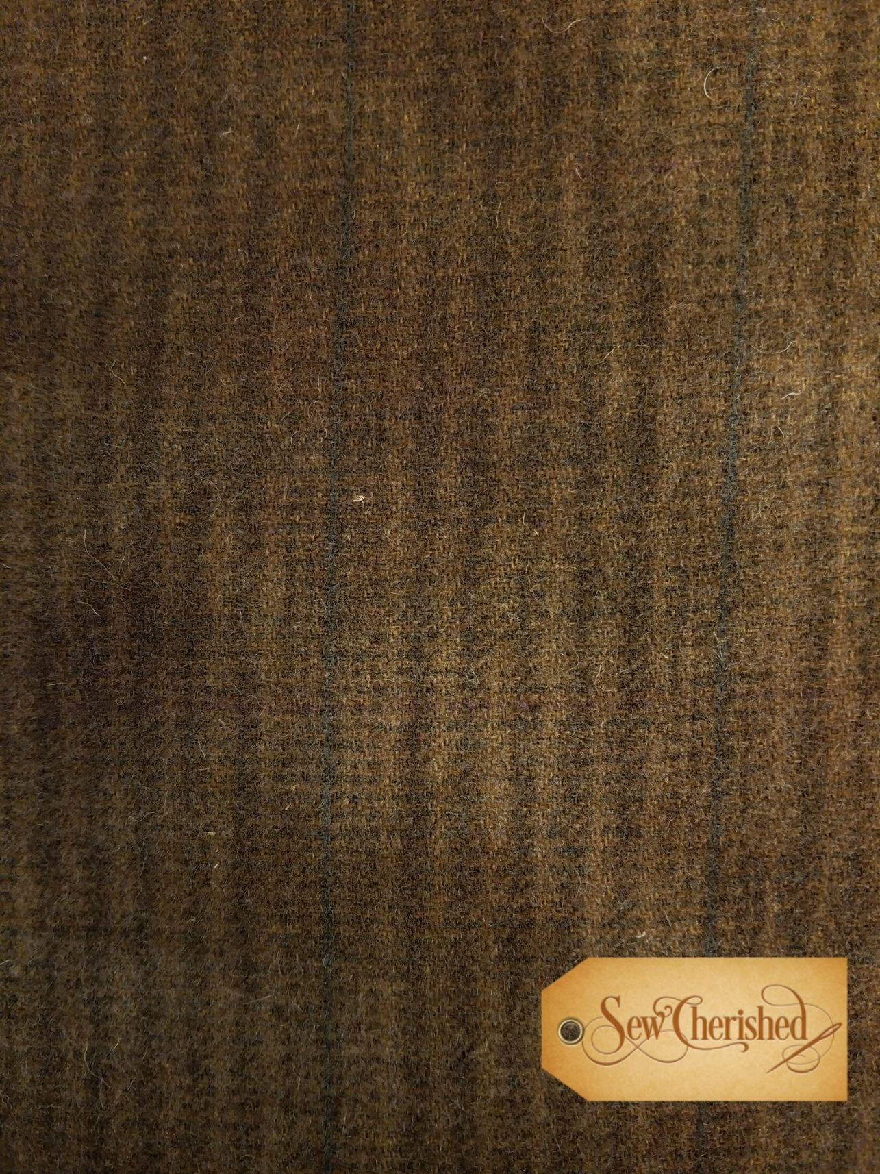 Chocolate Stripe Wool