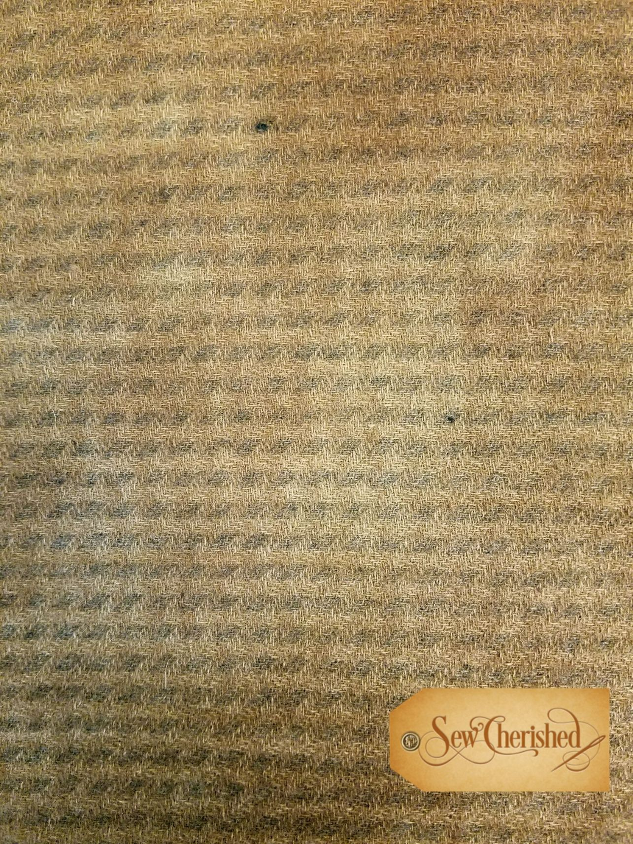 Burlap Check Wool