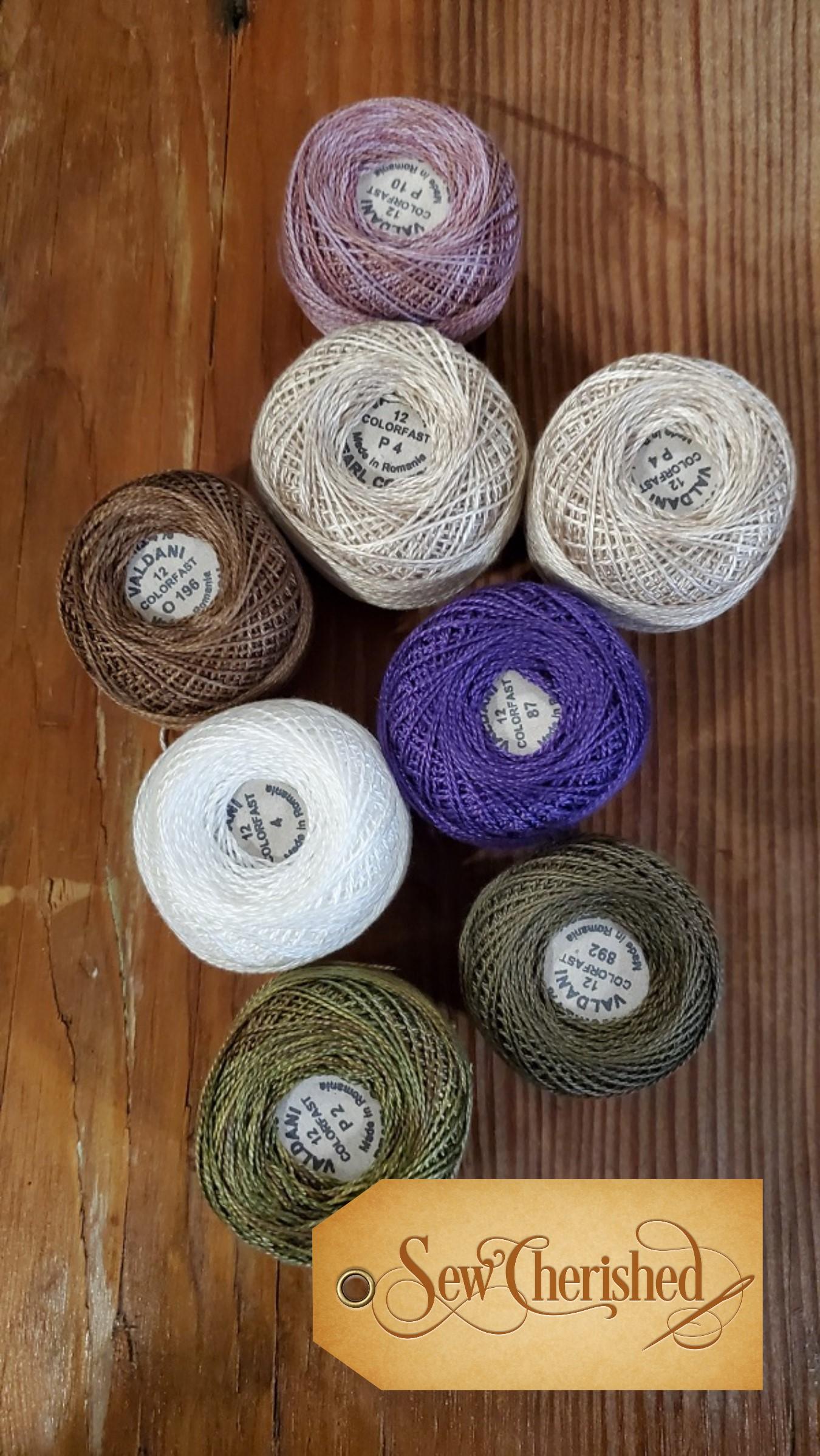 Garden Gals February Thread Kit