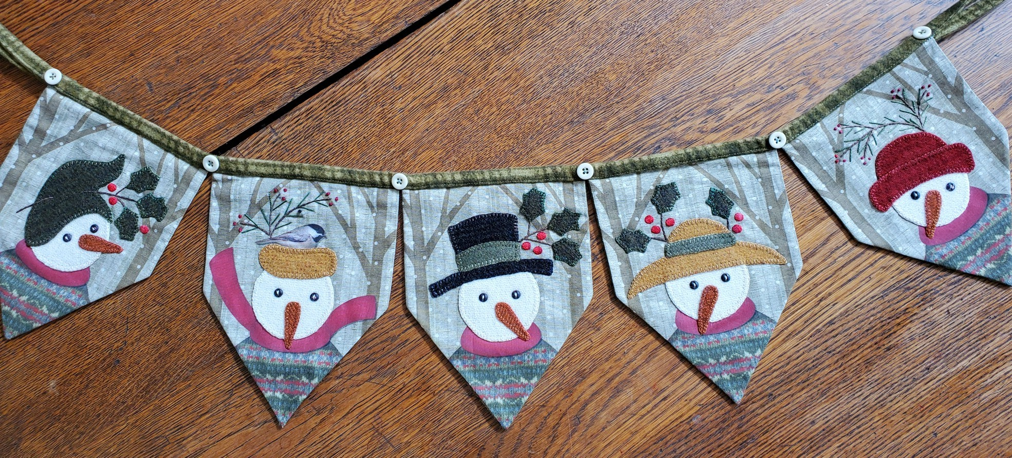 Winter Friends Banner Kit