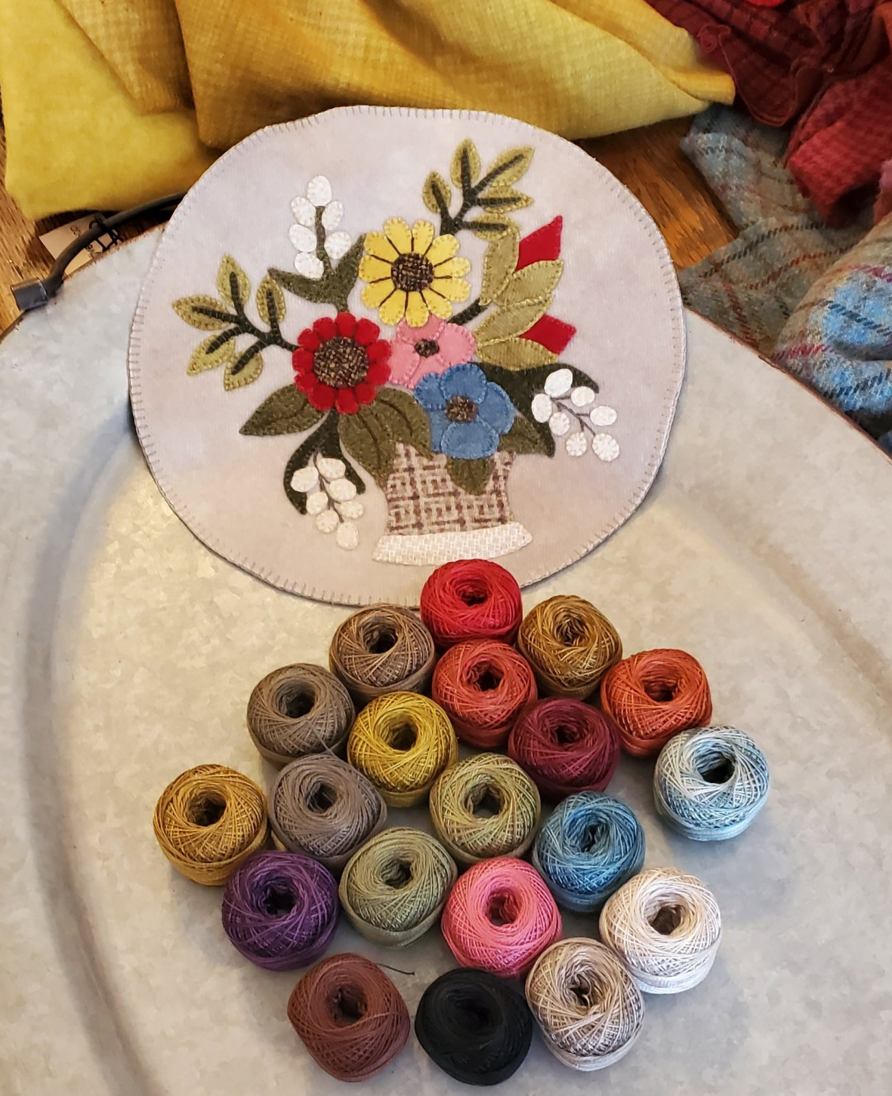 A Round the Year Thread Kit