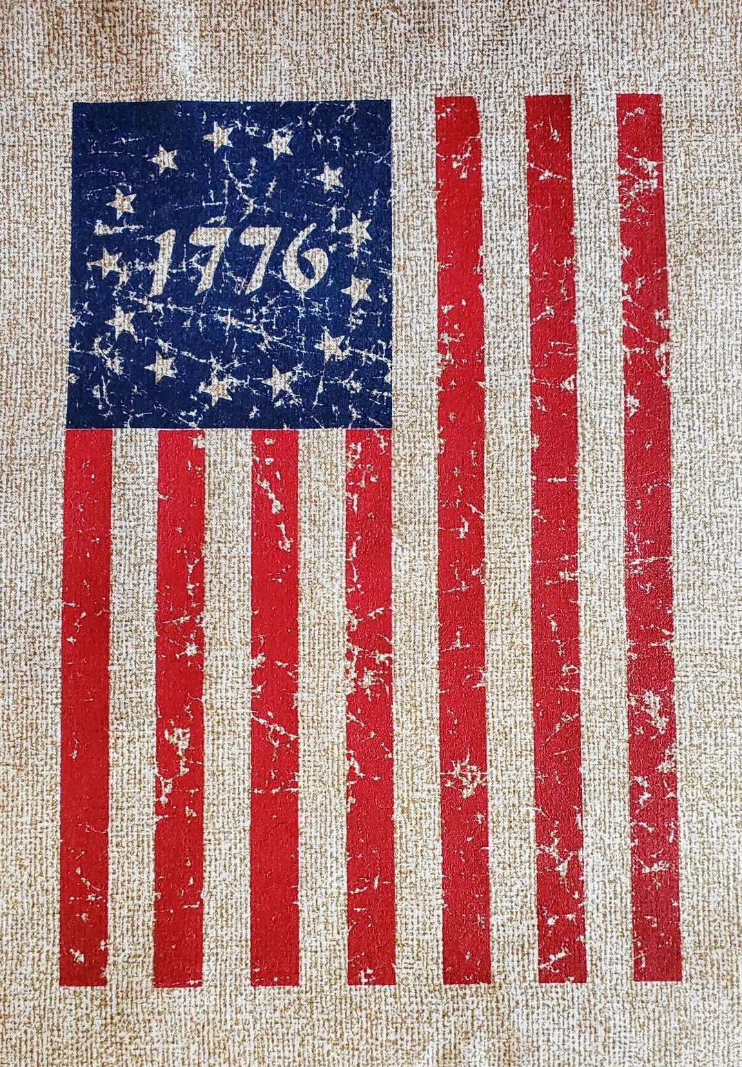 Betsy Ross Distressed Flag