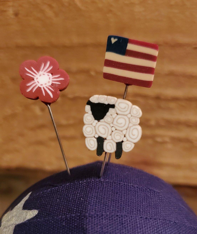 Patriotic Ewe Pin Mini Set