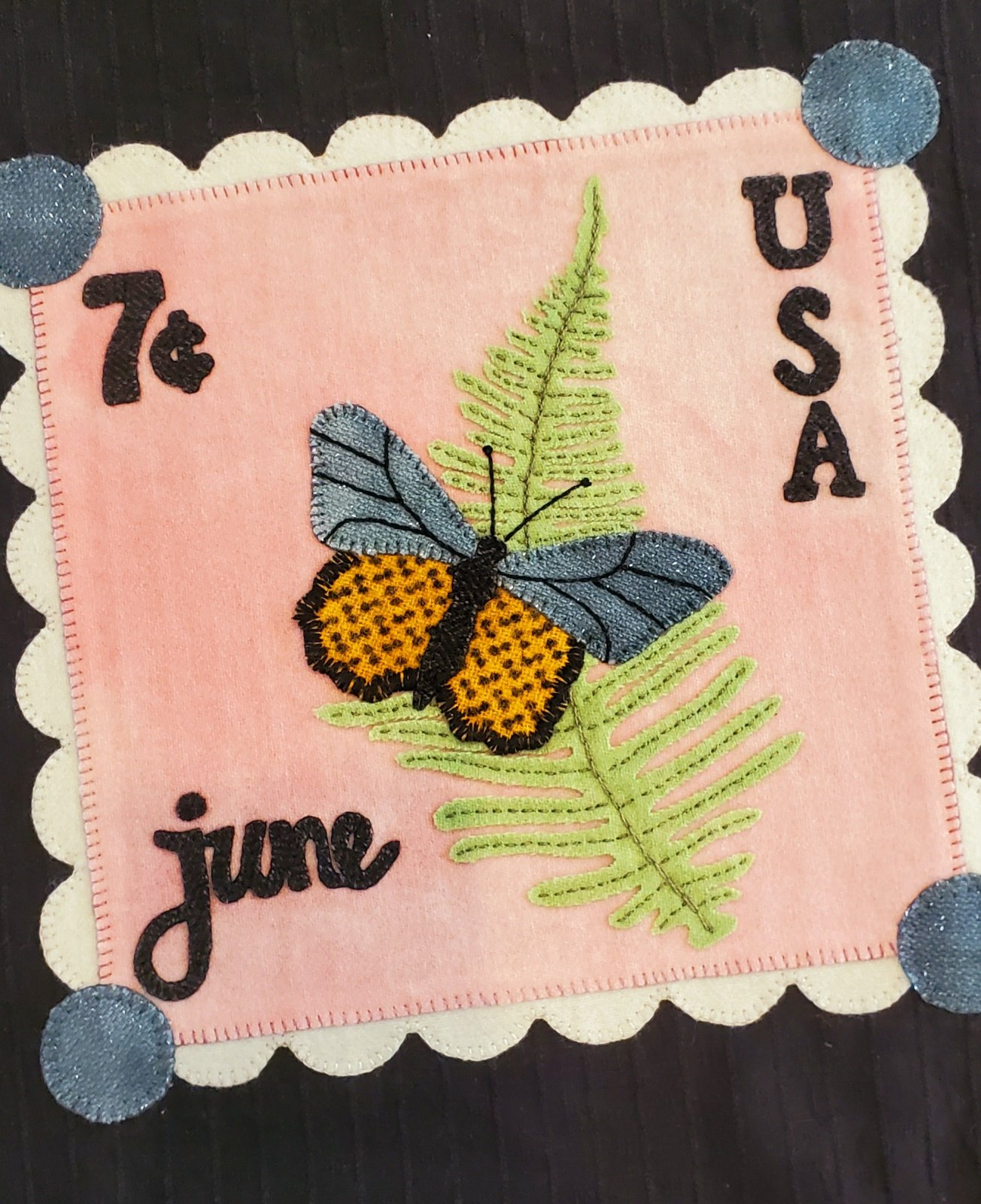 June Stamp Block Kit with Pattern