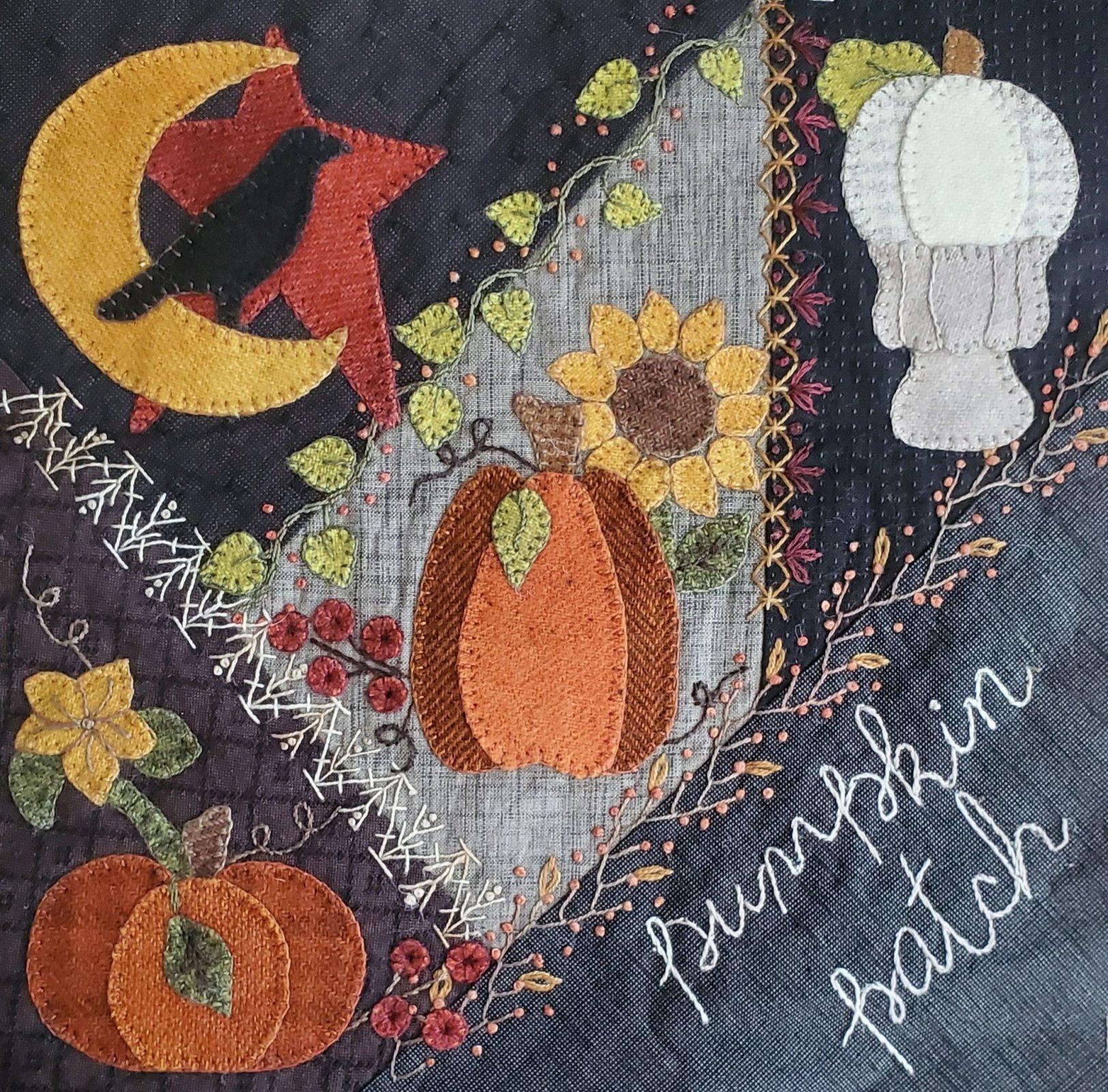 Crazy Pumpkin Patch Pattern only