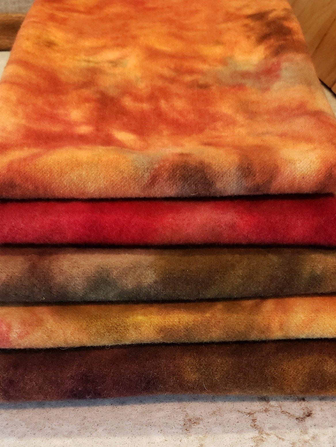 Spot dyed Fall Wool Bundle