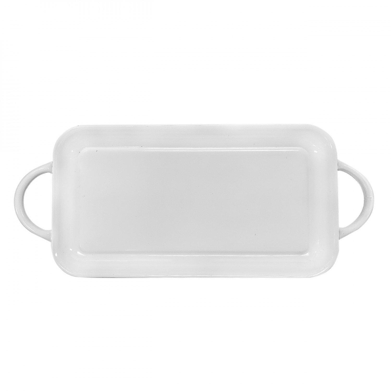 White enamel tray
