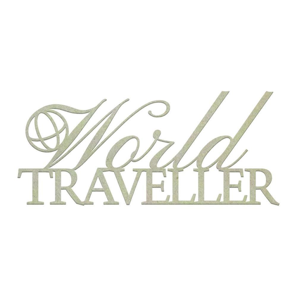 World Traveller Chipboard