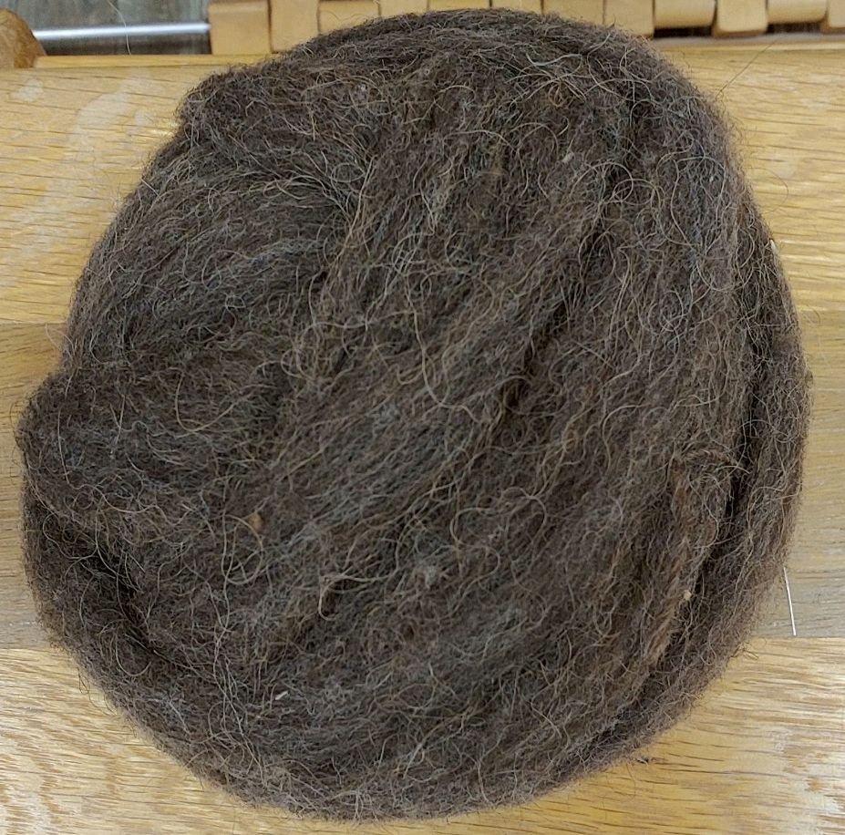 Roving Bison - 40 / Dk Wool 60 4 Oz Braun