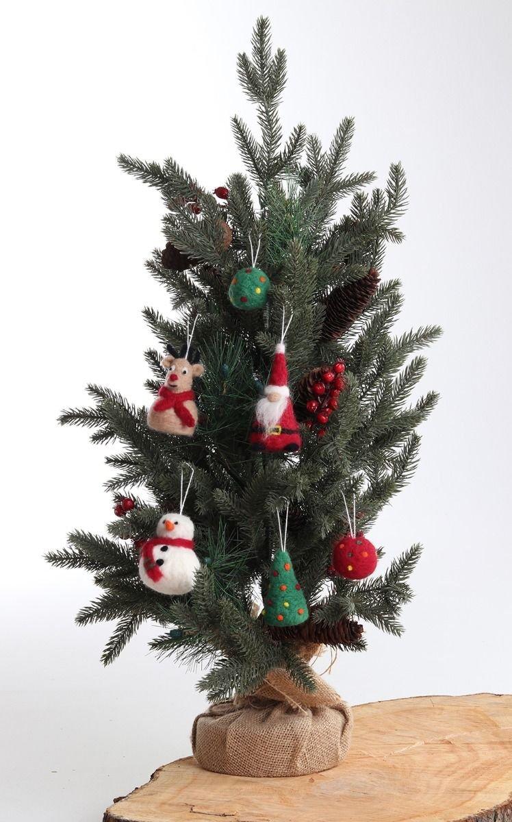 Felting Kit - Christmas Ornament