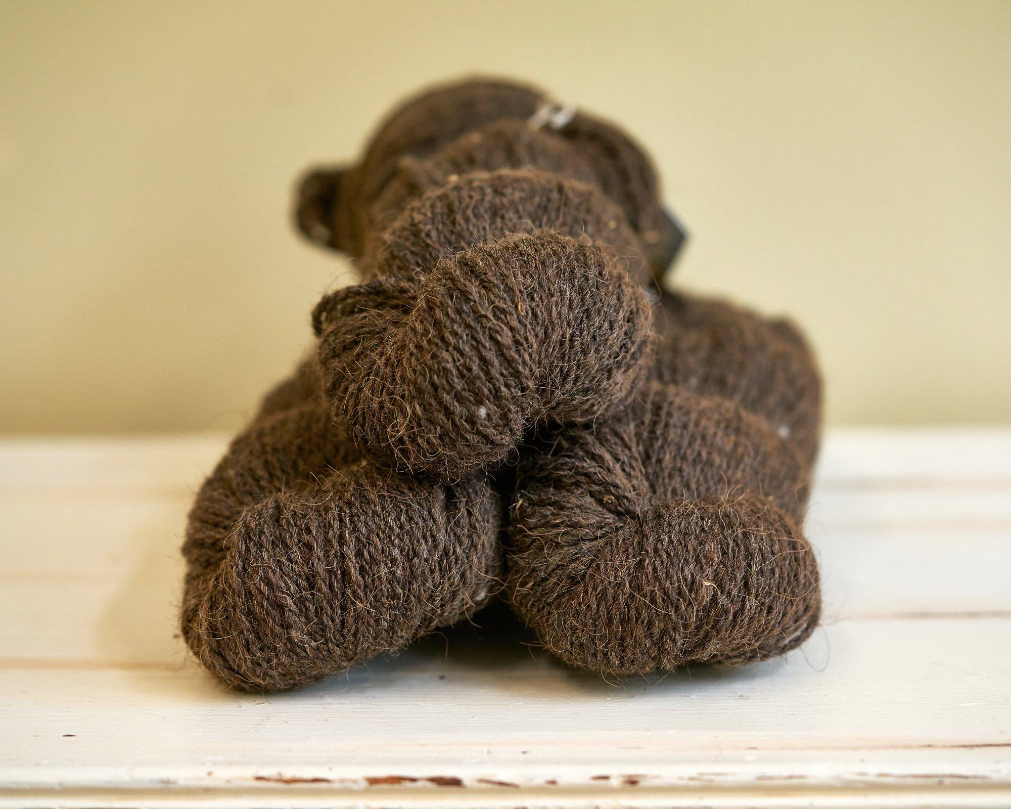 Braun Worsted Yarn Bison 40 / dk Wool 60