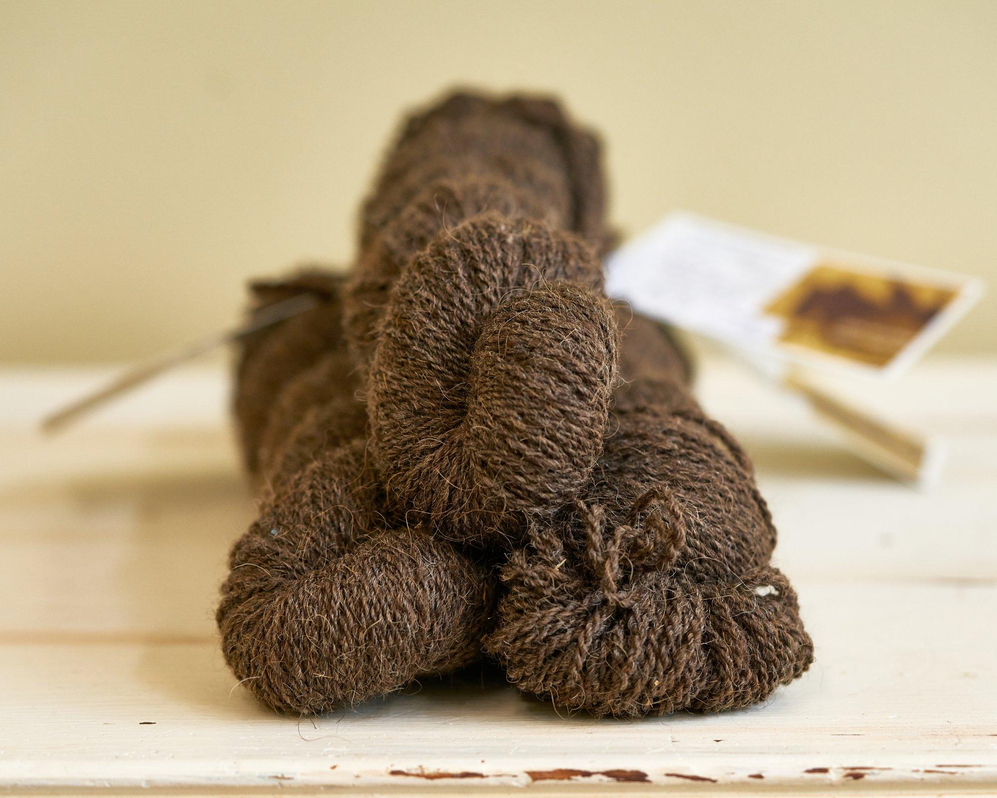 Petty Sport Yarn 20 Bison, 15 Alpaca, 65 dk Wool