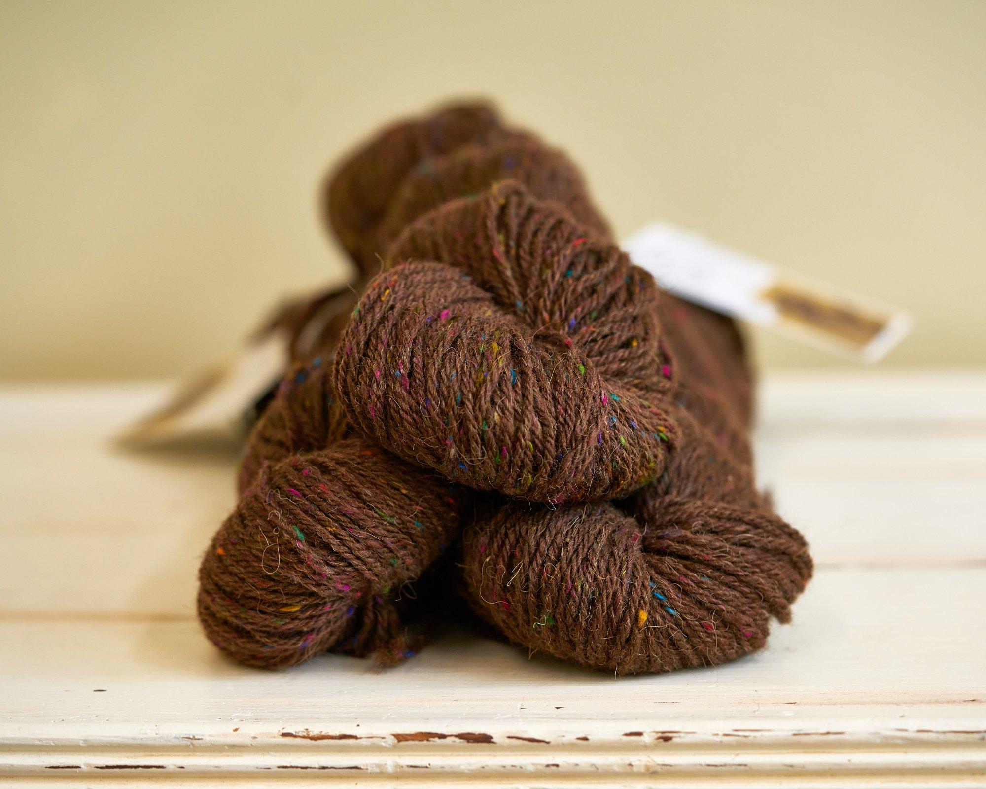 Morris Grand DK Yarn Bison 25 /Wool 25/Alpaca 50/Silk