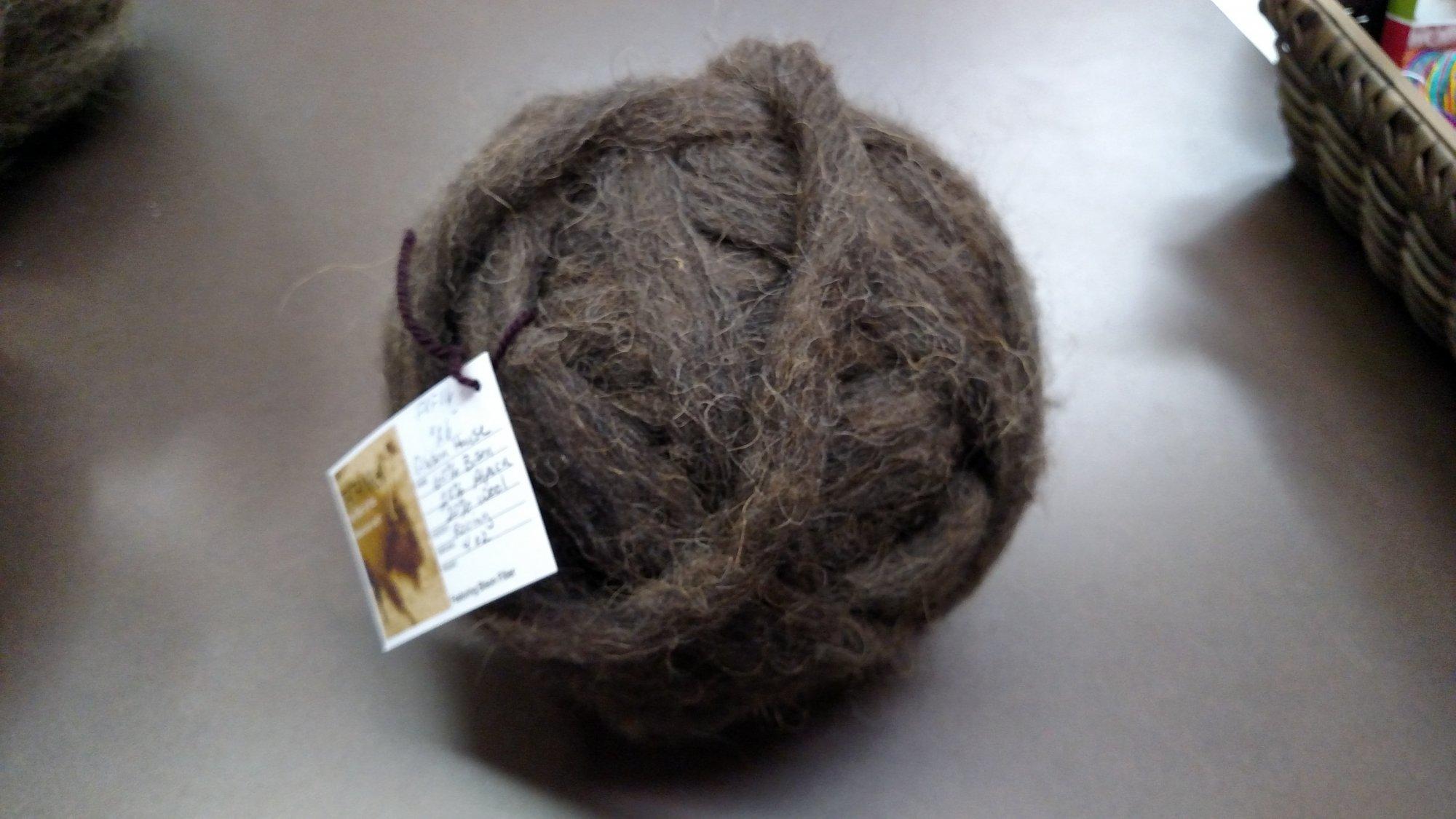 Roving 20/Bison 15/Alpaca 65/wool 1 oz Petty