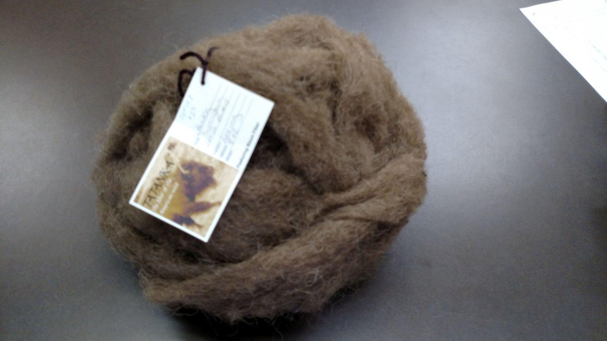 Roving Bison 100% - 4 Oz Minnekahta