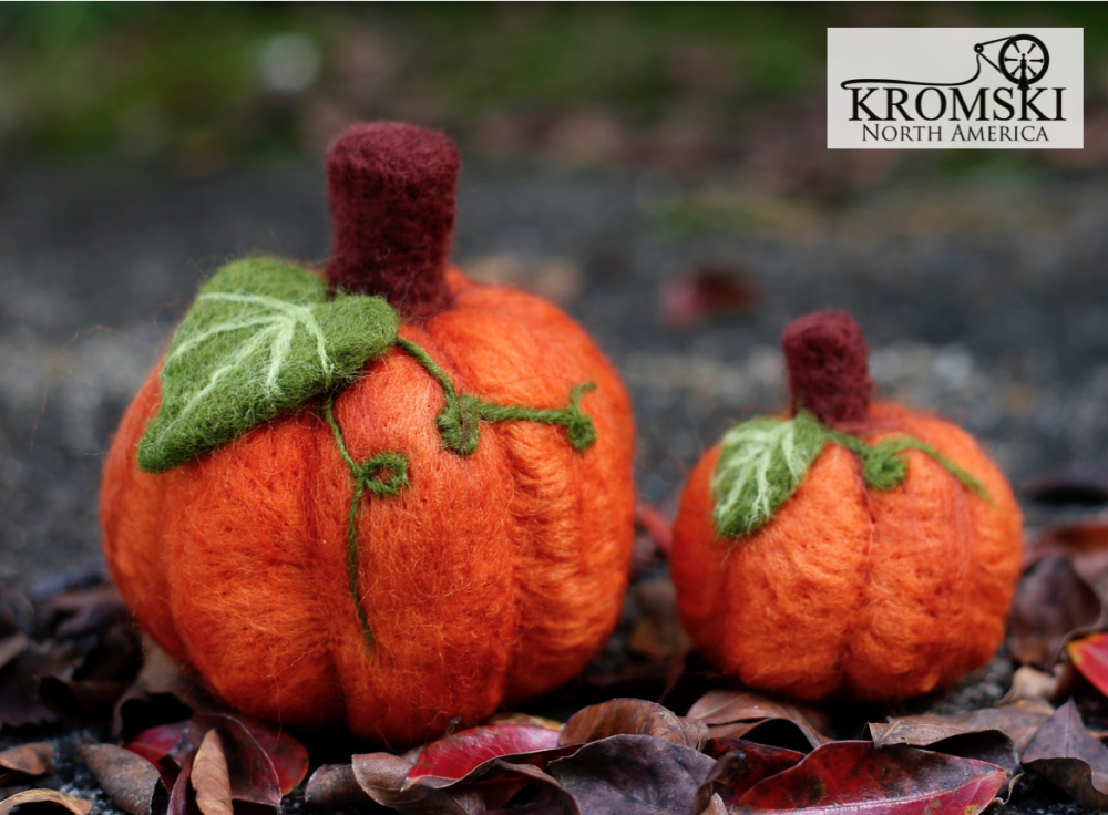 Felting Kit - Pumpkins