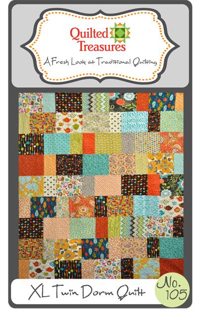 105: XL Twin Dorm Quilt Pattern