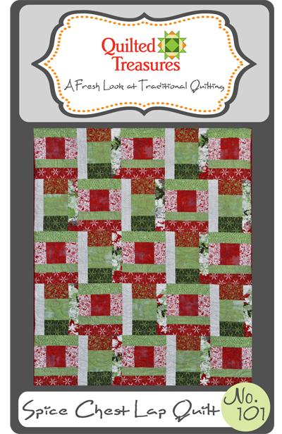 101: Spice Chest Lap Quilt Pattern
