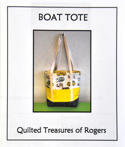 Boat Tote Pattern