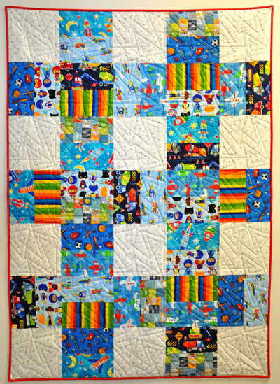 Shadow Dancer Quilt Kit: Primary