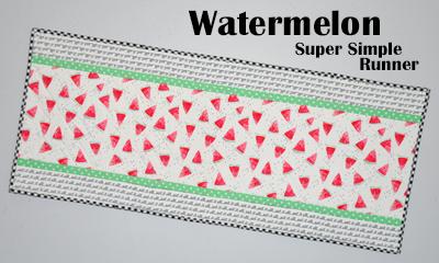 Watermelon Super Simple Runner Kit